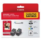 Genuine Canon 0615B009 Combo Pack Ink Cartridge