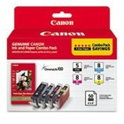 Genuine Canon 0628B027 Combo Pack Ink Cartridge