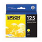 Genuine EPSON T125 Yellow Ink Cartridge (T125420)