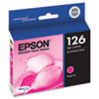 Genuine EPSON T126 Magenta High Yield Ink Cartridge (T126320)