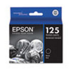 Genuine EPSON T125 Black Ink Cartridge (T125120)