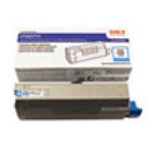 Genuine Okidata 44318603 Cyan Toner Cartridge