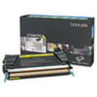Genuine Lexmark C748H1YG Yellow High Yield Toner (700H4) (10K Yield)
