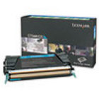 Genuine Lexmark X746A1CG Cyan Toner Cartridge (701C) (7,000 Yield)