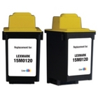 Lexmark #20 Tri-Color Remanufactured Ink Cartridge (15M0120)