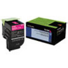 Genuine Lexmark 70C10M0 Magenta Toner Cartridge (701M) (1,000 Yield)