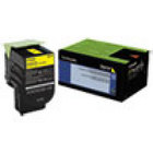 Genuine Lexmark 70C10Y0 Yellow Toner Cartridge (701Y) (1,000 Yield)