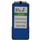 Lexmark #37XL Tri-Color Remanufactured Ink Cartridge (18C2180)