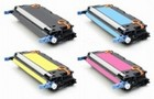 HP 501A, 502A Set Remanufactured Toner  (Q6470A, 71A, 72A, 73A)