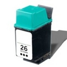 HP 26 Black Remanufactured Ink Cartridge (51626A) (#26)