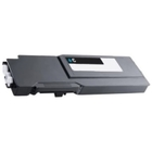 Dell S3840cdn, S3845cdn High Yield Cyan Remanufactured Toner G7P4G