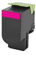 LEXMARK 80C1SM0 Magenta Remanufactured Toner Cartridge (3,000 Yield)