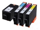 HP 934/935XL 4 Color Ink Set,Remanufactured BCMY Combo (#934/935XL)