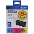 Genuine Brother LC1013PKS (3 Color Combo Ink Pack)