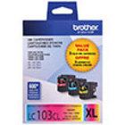 Genuine Brother LC1033PKS (3 Color Combo Ink Pack)