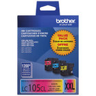 Genuine Brother LC1053PKS Cyan, Magenta, Yellow Ink Cartridge