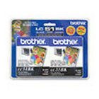 Genuine Brother LC512PKS Black Twin Pack Ink Cartridge