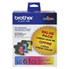 Genuine Brother LC613PKS (3 Color Combo Ink Pack)