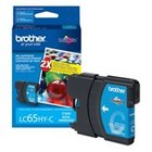 Genuine Brother LC65HYC High Yield Cyan Ink Cartridge