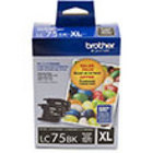 Genuine Brother LC752PKS Black Twin Pack Ink Cartridge