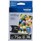 Genuine Brother LC75BK Black Ink Cartridge