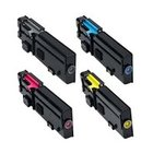 DELL C2660dn, C2665dnf New Generic Brand 4 Color Set (K,C,M,Y) Toner Cartridge