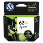 New Original HP C2P07AN (62XL) High Yield Tri-Color Ink Cartridge