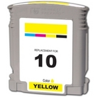 HP 10 Yellow Remanufactured Ink Cartridge (C4842A)