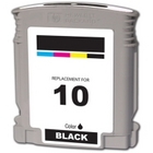 HP 10 Black Remanufactured Ink Cartridge (C4844A)