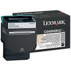 Genuine Lexmark C540H1KG Black High Yield Toner (2,500 Yield)