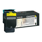 Genuine Lexmark C544X2YG Yellow Extra High Yield Toner (4,000 Yield)