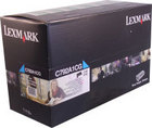 Genuine Lexmark C792A1CG Cyan Toner Cartridge (6,000 Yield)