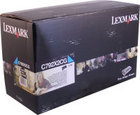 Genuine Lexmark C792X2CG Cyan Toner Cartridge (20,000 Yield)