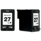 HP 27 Black Remanufactured Ink Cartridge (C8727AN) (#27)