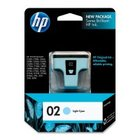 New Original HP 02 Light Cyan Ink Cartridge (c8774wn) (#02)