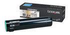 Genuine Lexmark C930H2KG Black Toner Cartridge (38,000 Yield)