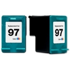 HP 97 Large Economy Tri-Color Compatible Ink Cartridge (C9363WN) (#97)