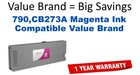 HP CB273A Magenta Remanufactured Ink Cartridge