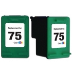 HP 75XL Tri-Color Remanufactured Ink Cartridge (CB338WN) (#75XL)
