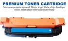 HP 648A Cyan Premium Toner Cartridge (CE261A)