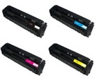 HP 201X HP 4-Color Set Economy High Yield Toner (CF400X,CF401X,CF402X,CF403X)