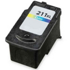 Canon CL-211XL TRI-COLOR Remanufactured Ink Cartridge (CL211XL)