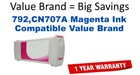 HP CN707A Magenta Remanufactured Ink Cartridge