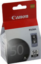 Genuine Canon PG-50 High Yield Black Ink Cartridge (0616B002)