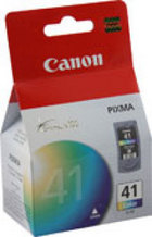 Genuine Canon CL-41 Tri-Color Ink Cartridge (0617B002)