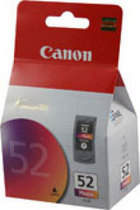 Genuine Canon CL-52 Photo Tri Color Ink Cartridge (0619B002)