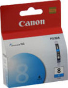 Genuine Canon CLI-8C Cyan Ink Cartridge (0621B002)
