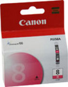 Genuine Canon CLI-8M Magenta Ink Cartridge (0622B002)