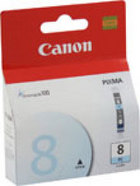 Genuine Canon CLI-8PC Photo Cyan Ink Cartridge (0624B002)