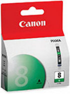 Genuine Canon CLI-8G Green Ink Cartridge (0627B002)
